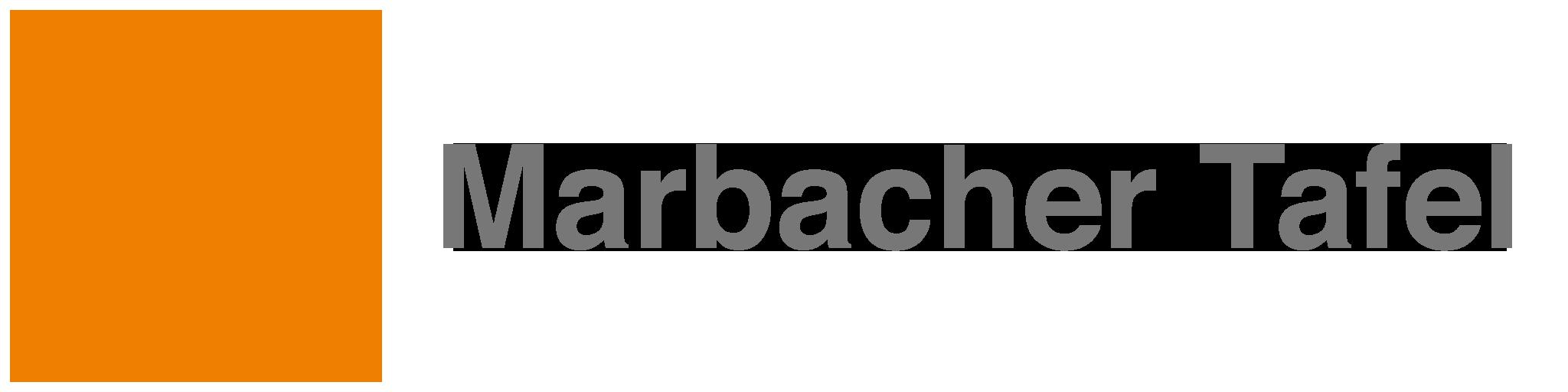 Das Logo der Marbacher Tafel